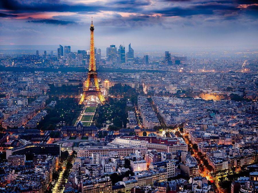 Weekend в Париже