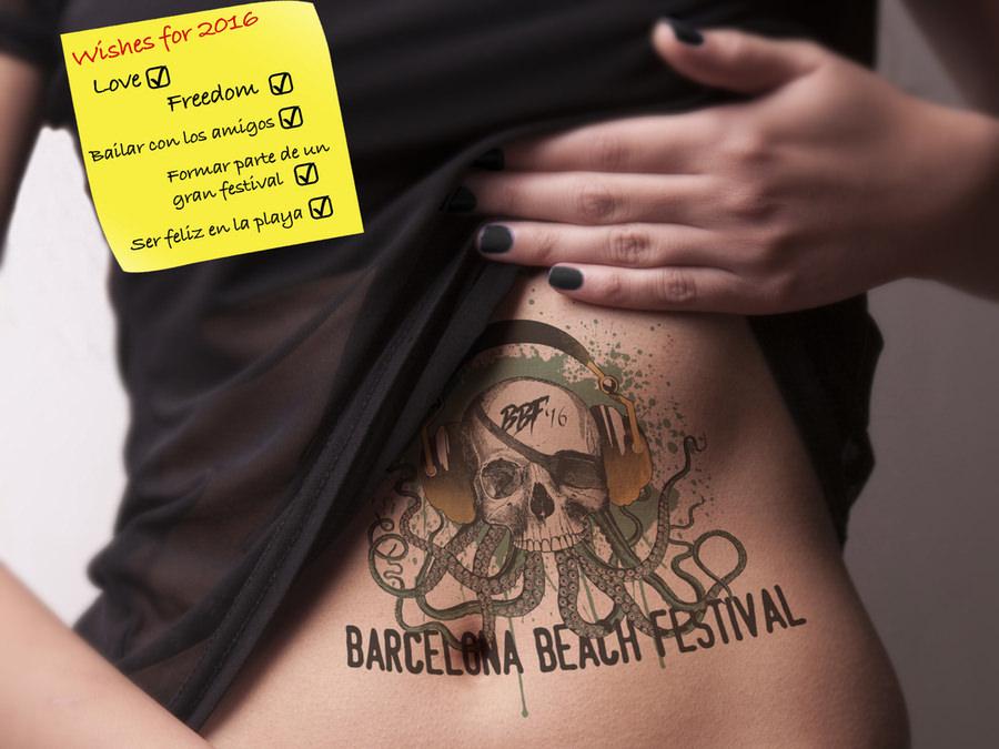 BBF Barcelona Beach Festival!