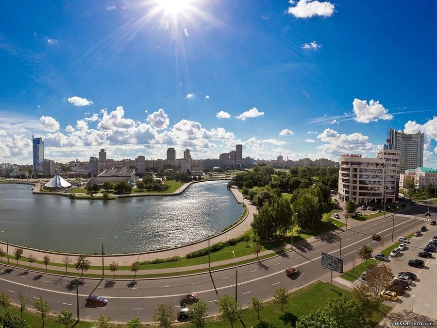 Добро пожаловать в Минск!