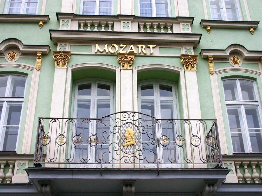 отель Mozart в Чехии