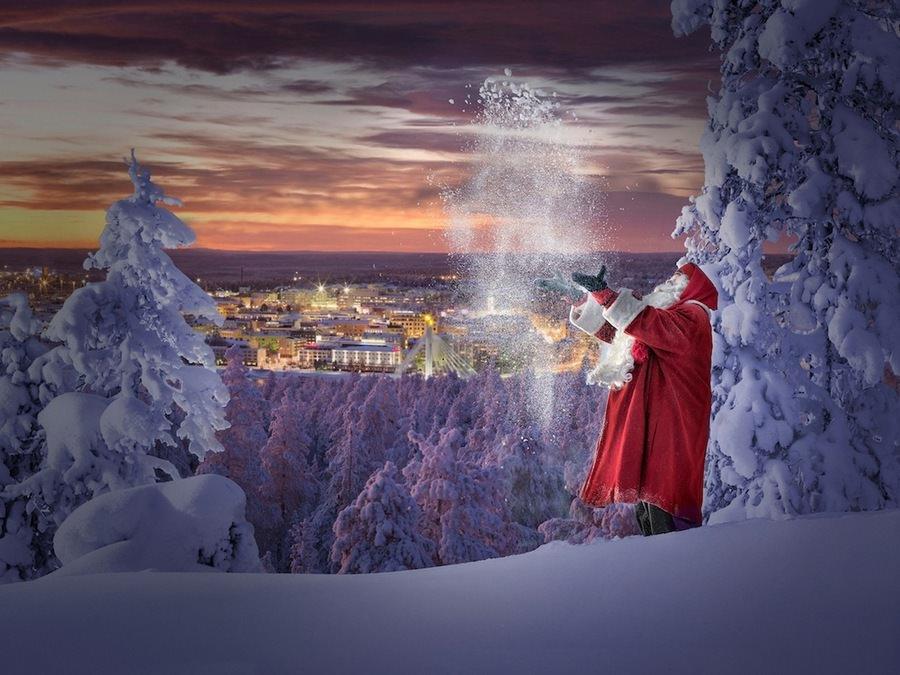В гости к Санта Клаусу