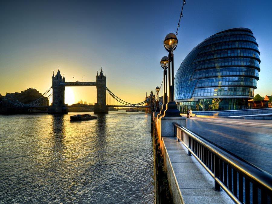 Визит в Лондон