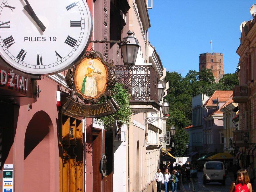 Многократная туристическая шенген виза в Литву