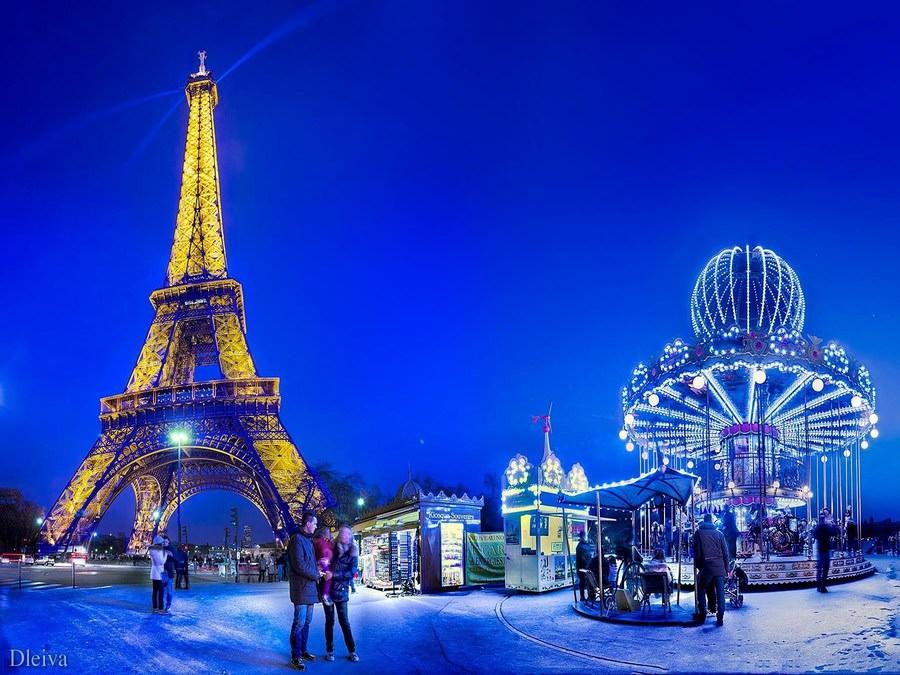 Автобусный тур Новогодние приключения в Париже