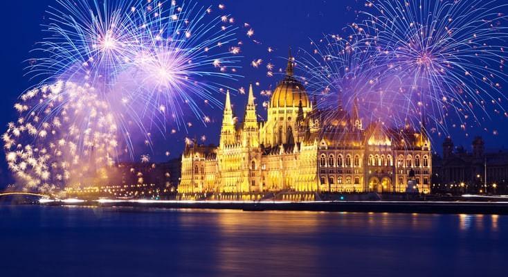 Новогодний круиз по Дунаю
