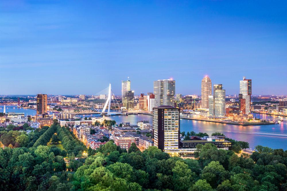 Новый маршрут в Роттердаме