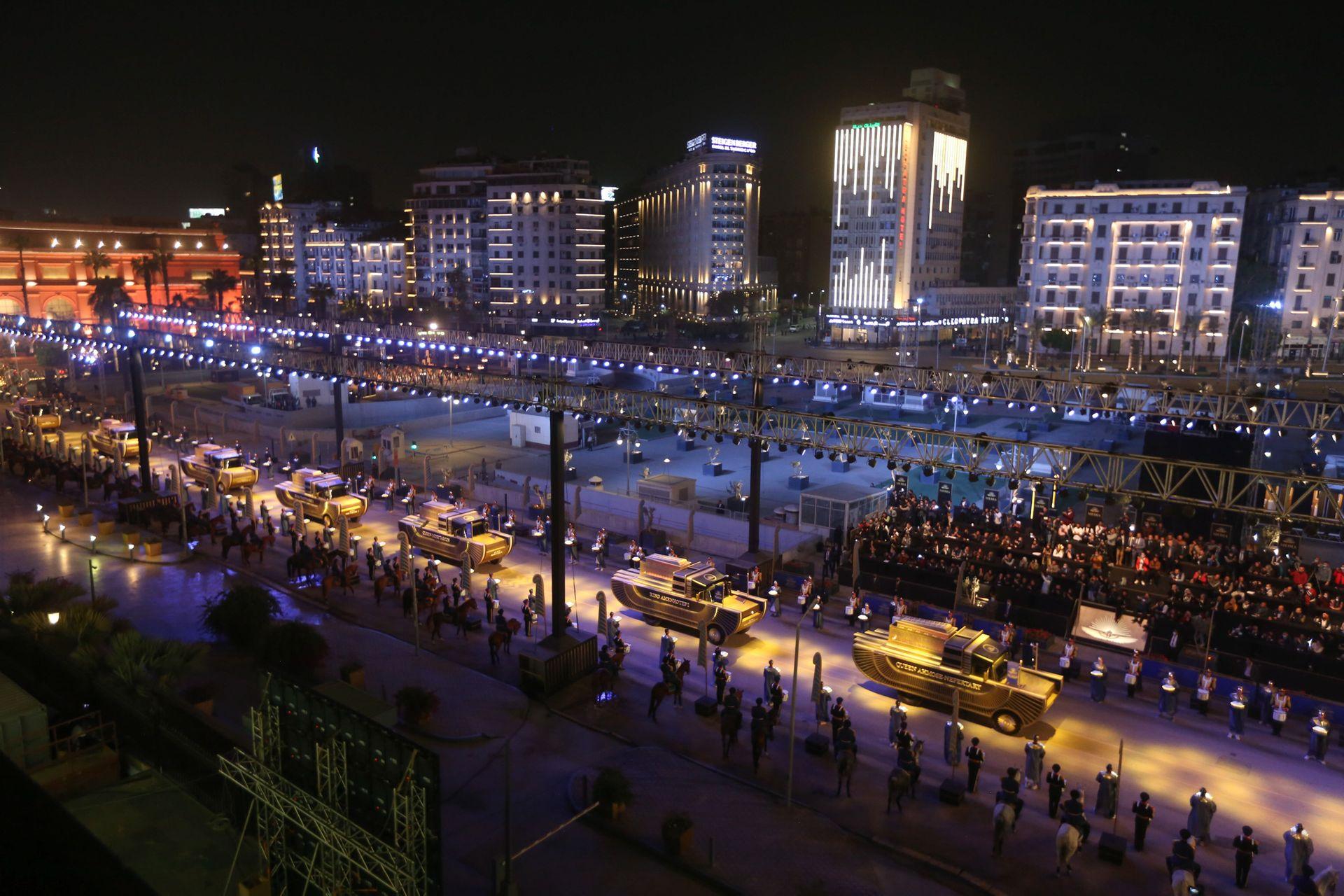 В Египте прошел «Парад мумий»